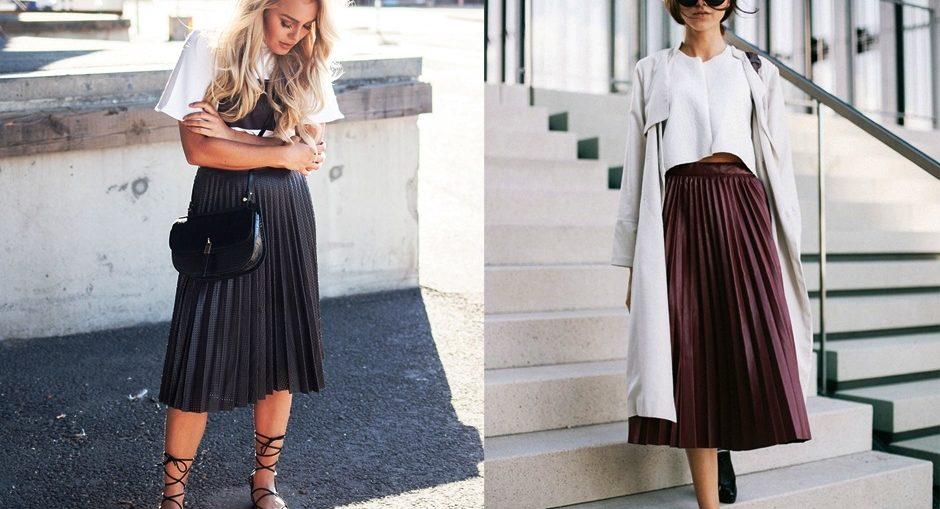 c16513584e2 Длинные плиссированные юбки — основной элемент гардероба женщины еще со  старых времен. Но после революций на смену подобной длине пришли более  короткие и ...