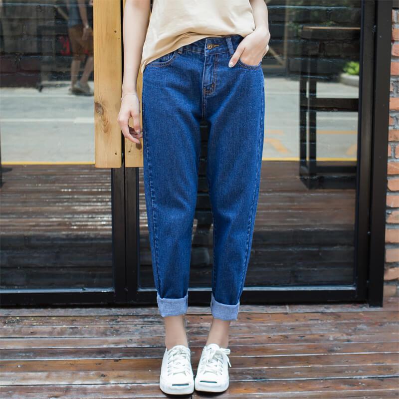 джинсы слоучи с кедами