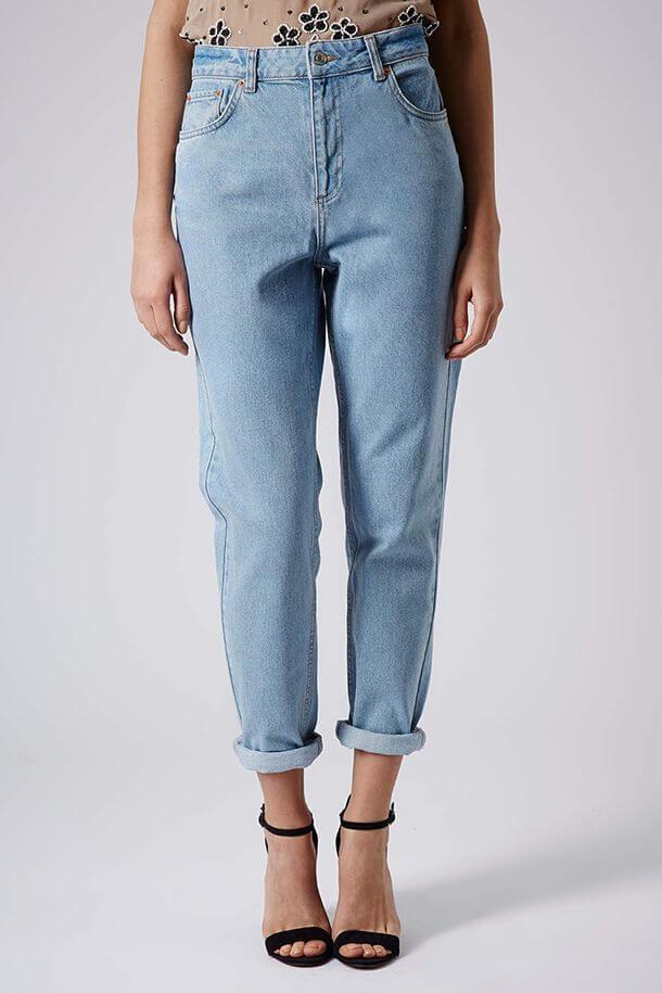 джинсы слоучи с каблуками