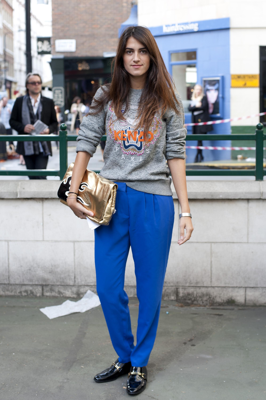 как носить брюки чинос синие