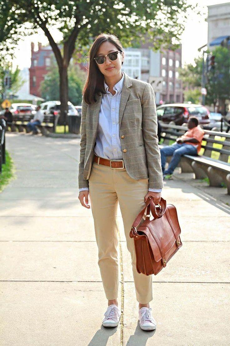 как носить брюки чинос с пиджаком