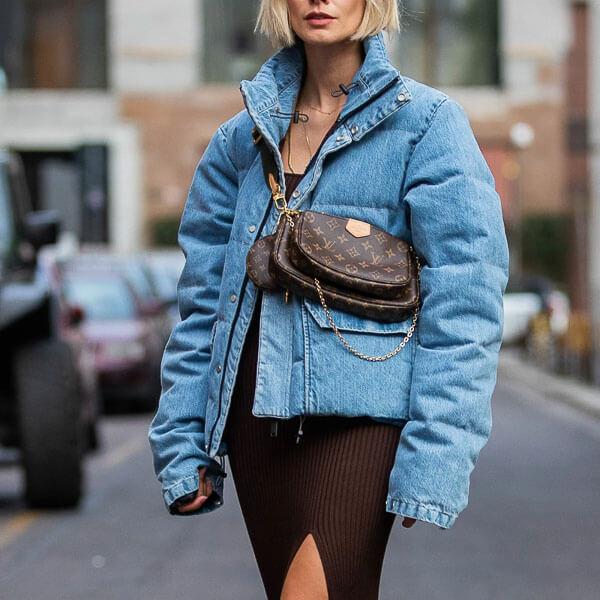 джинсовая куртка зимой