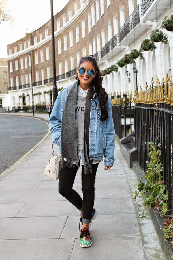 джинсовая куртка кэжуал